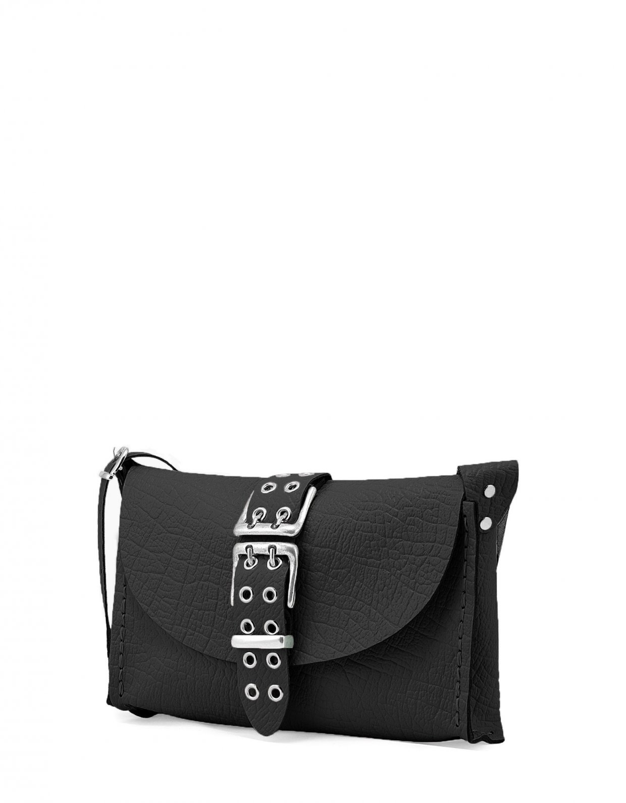 Individual Art Leather Mystery of love bag black