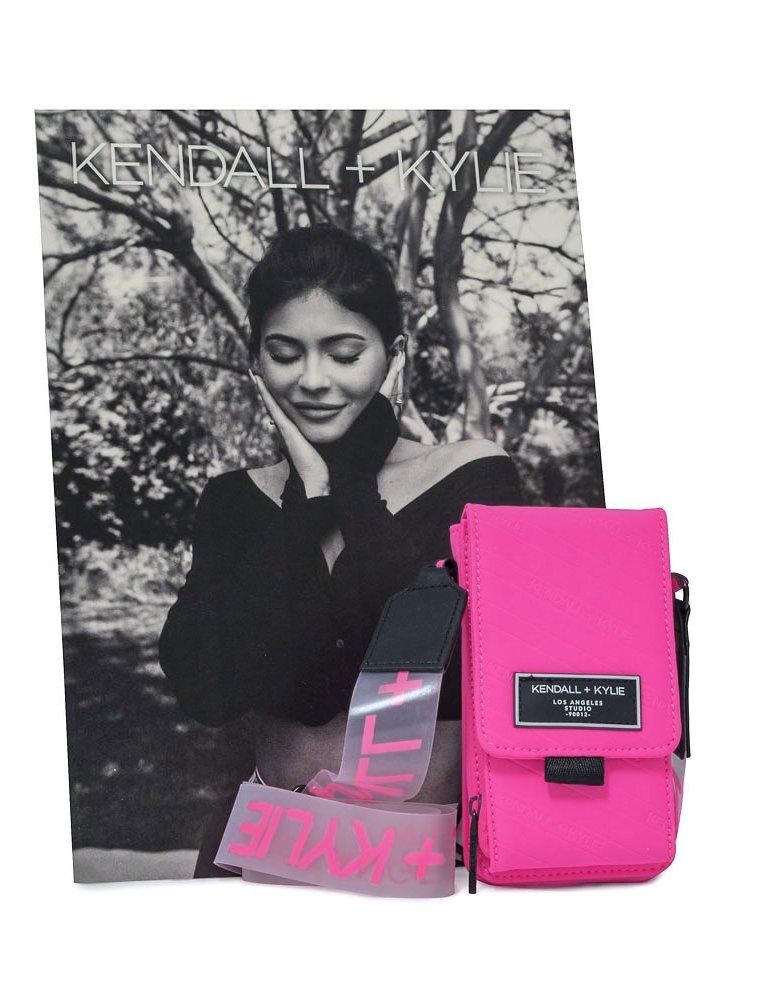 Kendall + Kylie Stella crossbody neon pink