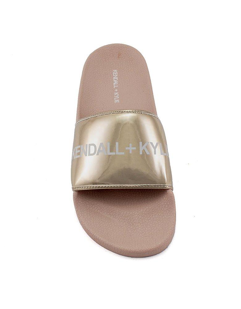 Kendall + Kylie KK Milana slides rose gold