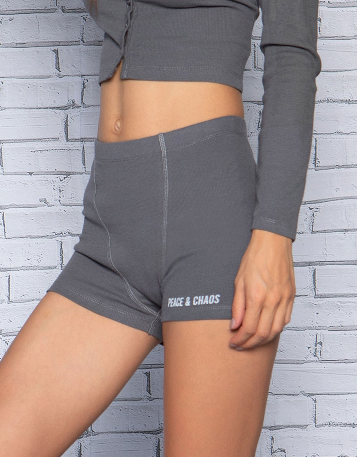 Peace & Chaos Homely boxer shorts anthracite