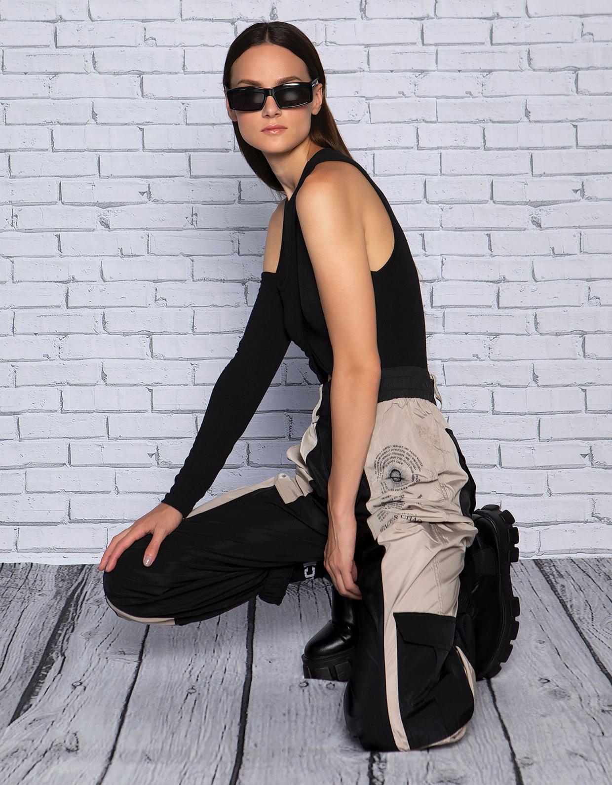 Peace & Chaos Robo black bodysuit