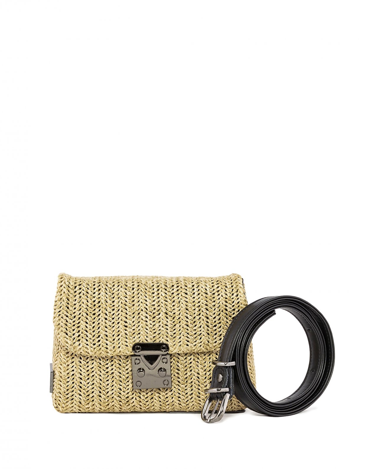 Elena Athanasiou Safari belt bag beige