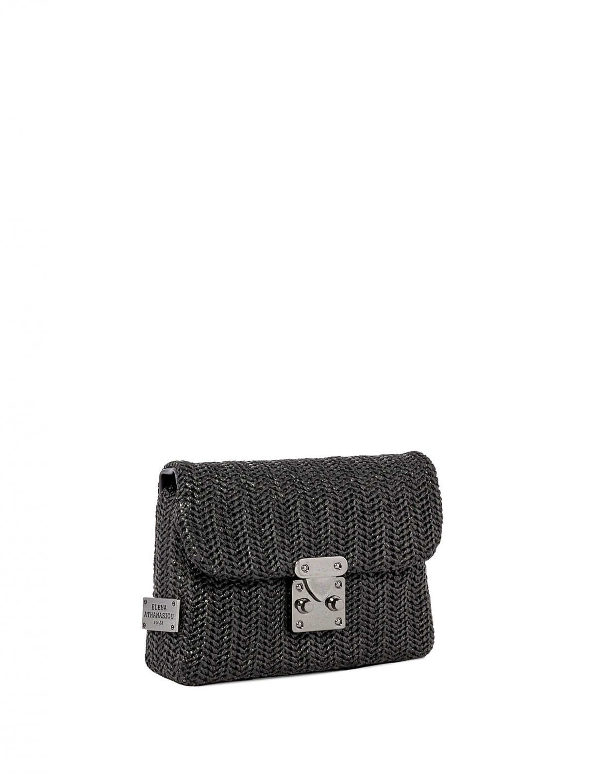 Elena Athanasiou Safari belt bag black