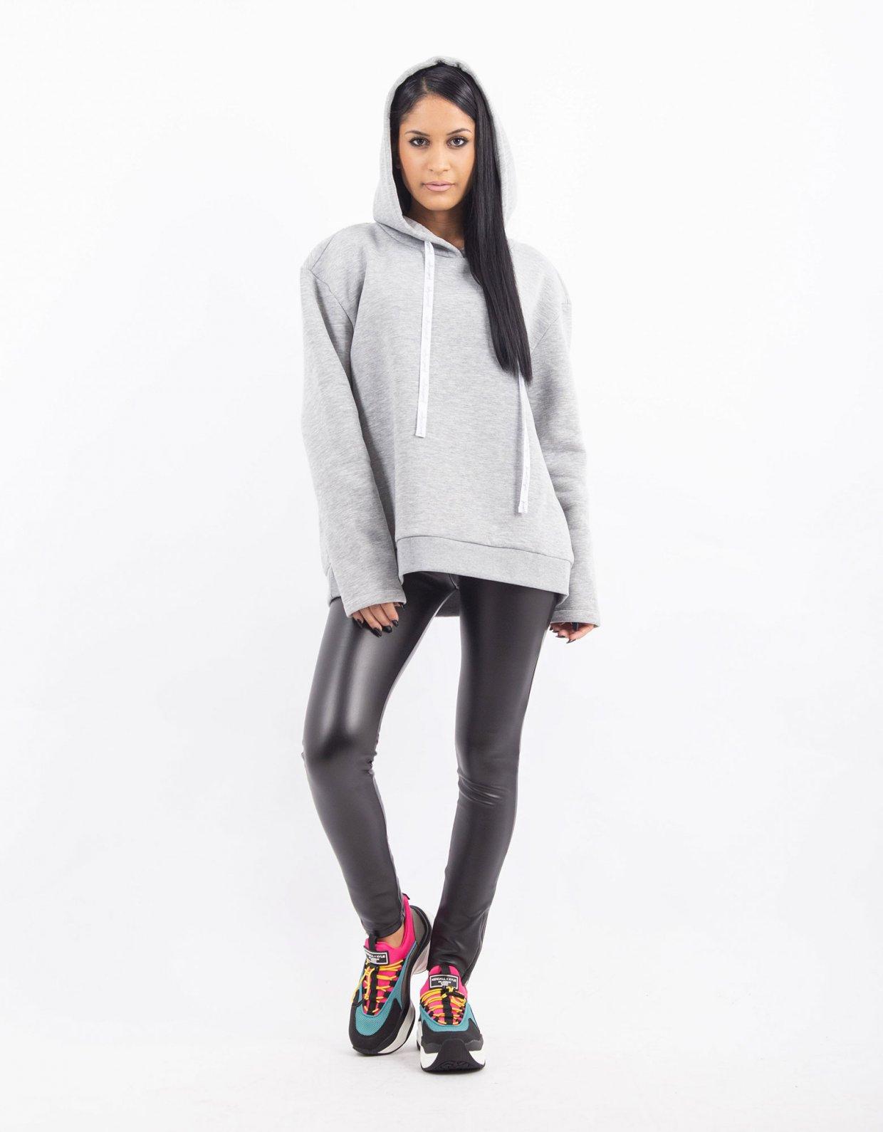Kendall + Kylie Grey hoodie