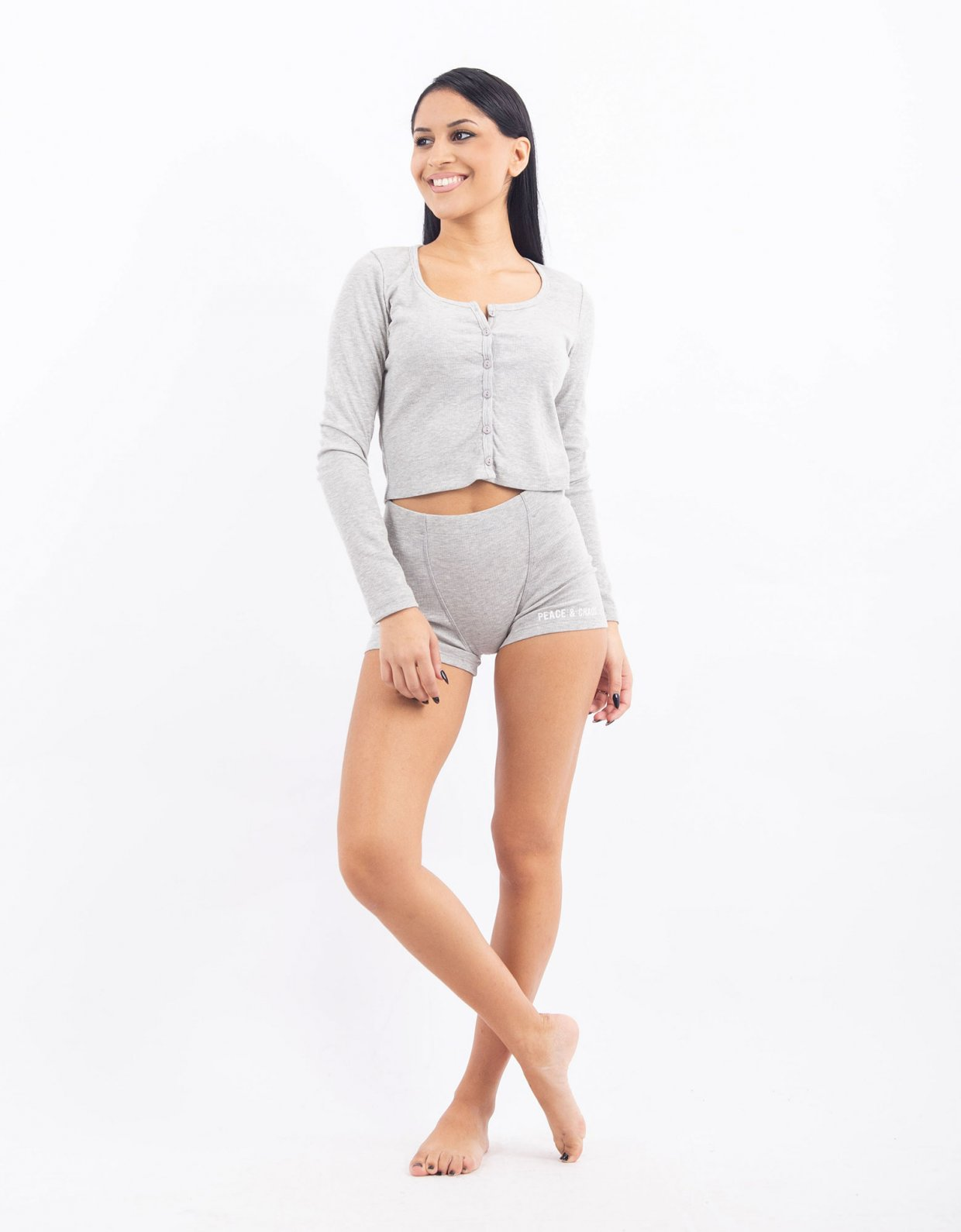 Peace & Chaos Homely top melange