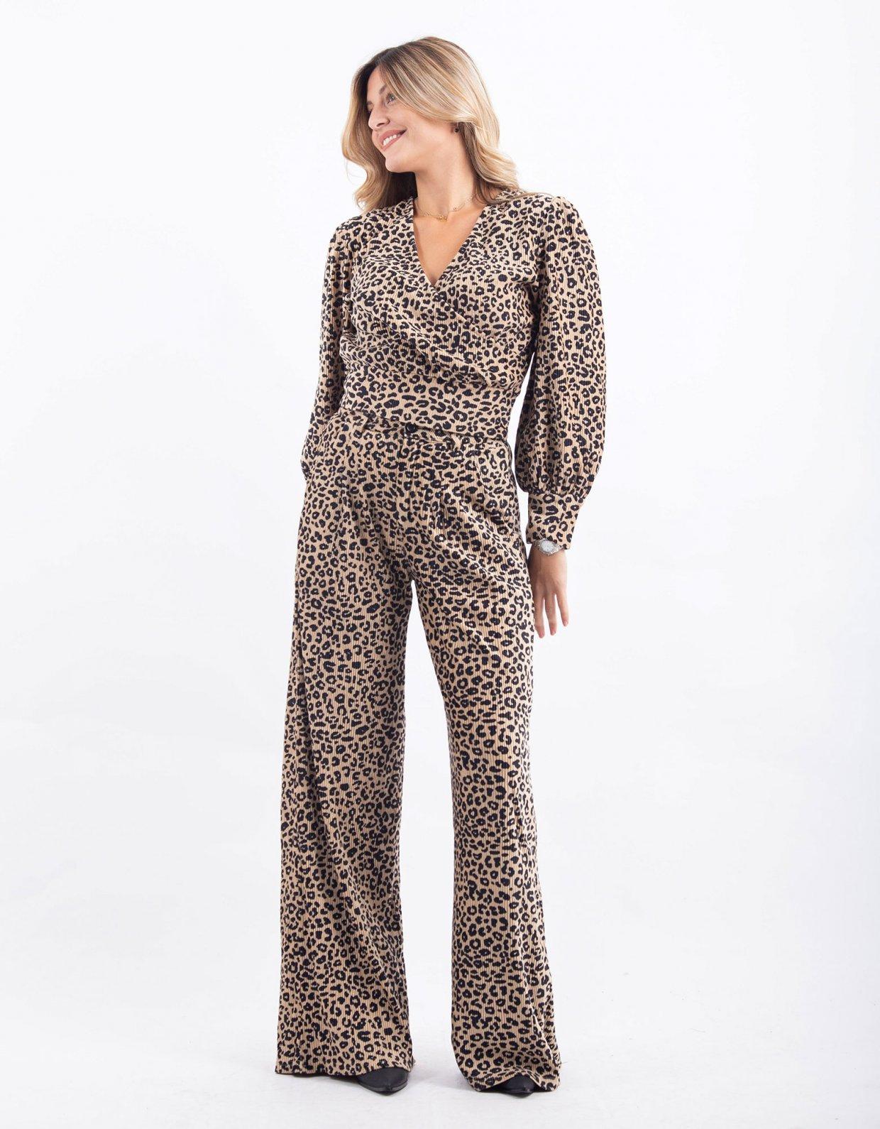 Kendall + Kylie Leopard pants