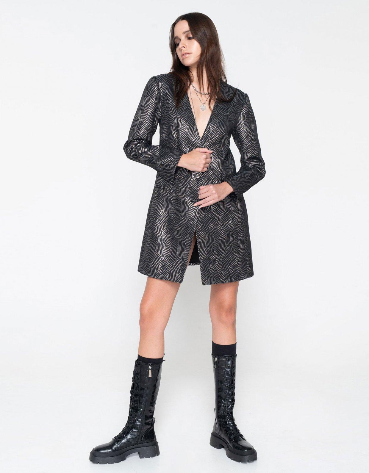 Nadia Rapti Rolling Stones lurex suit