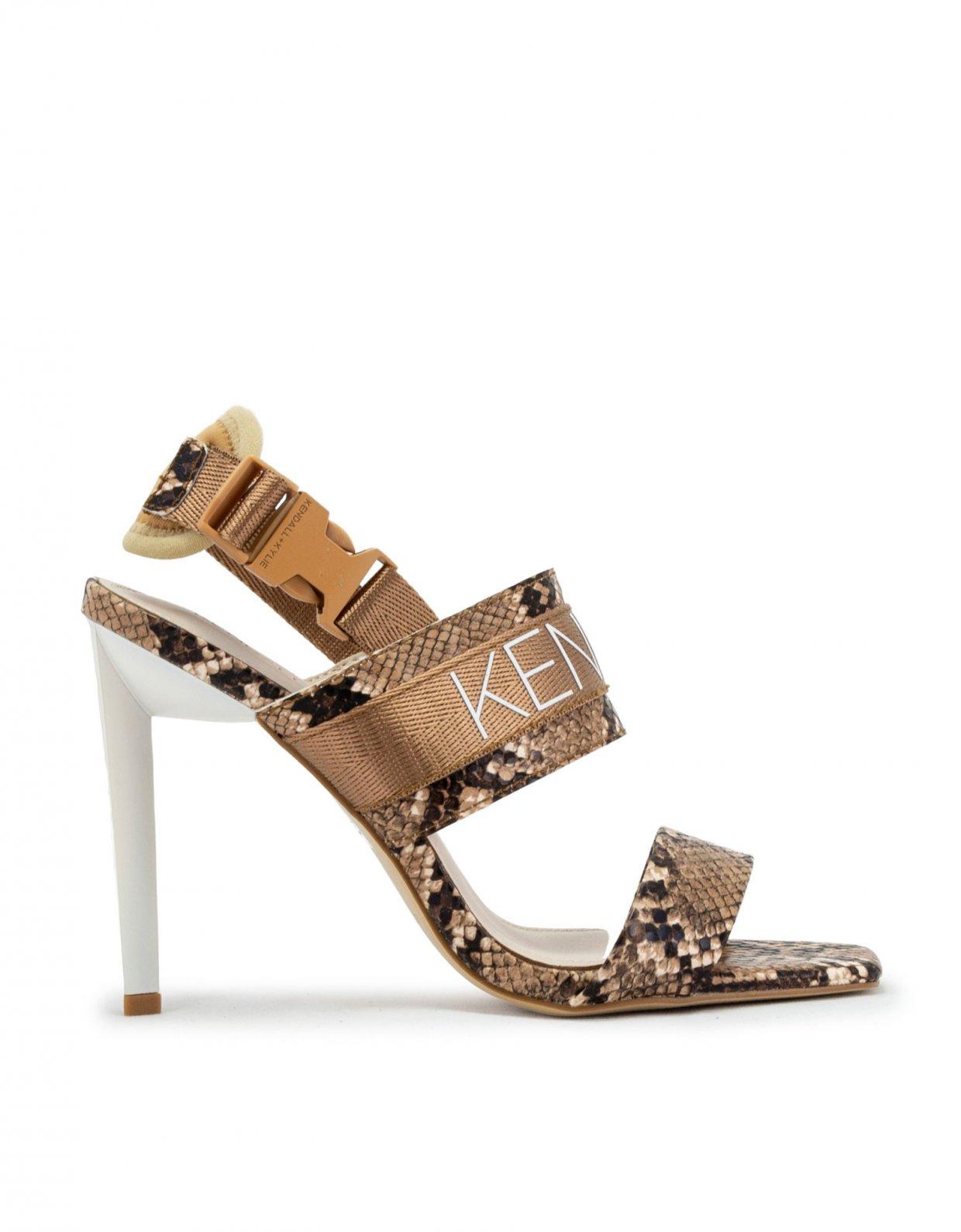 Kendall + Kylie Maddis snake sandal