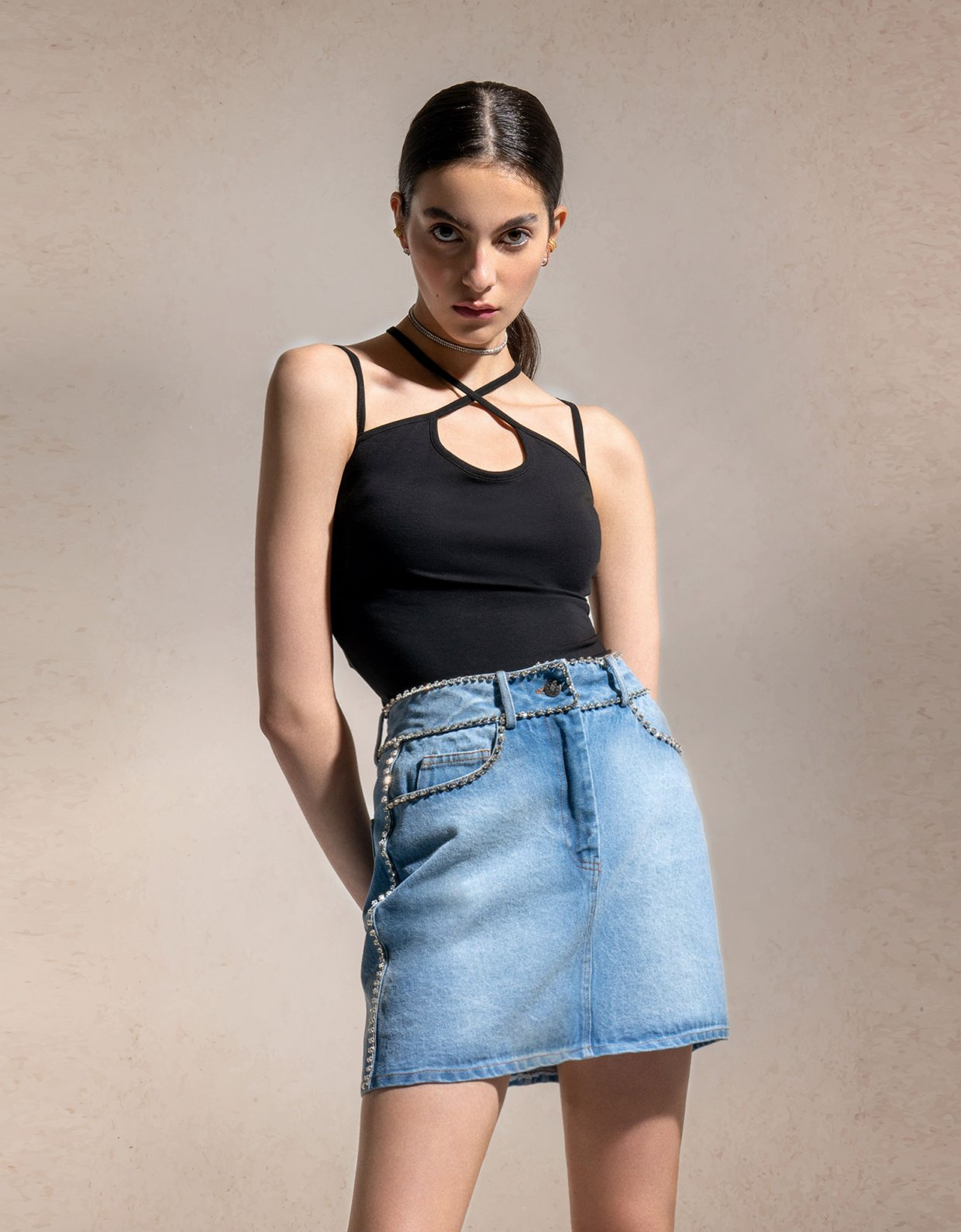 Peace & Chaos Shine bright skirt