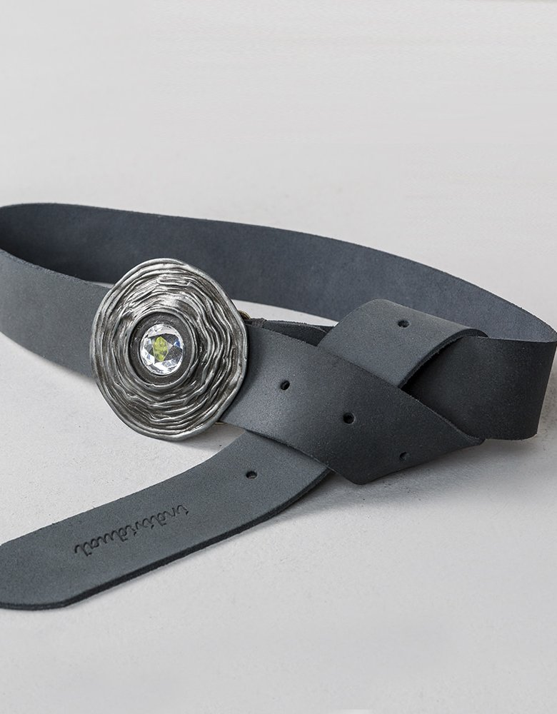 Individual Art Leather Out of space belt grey