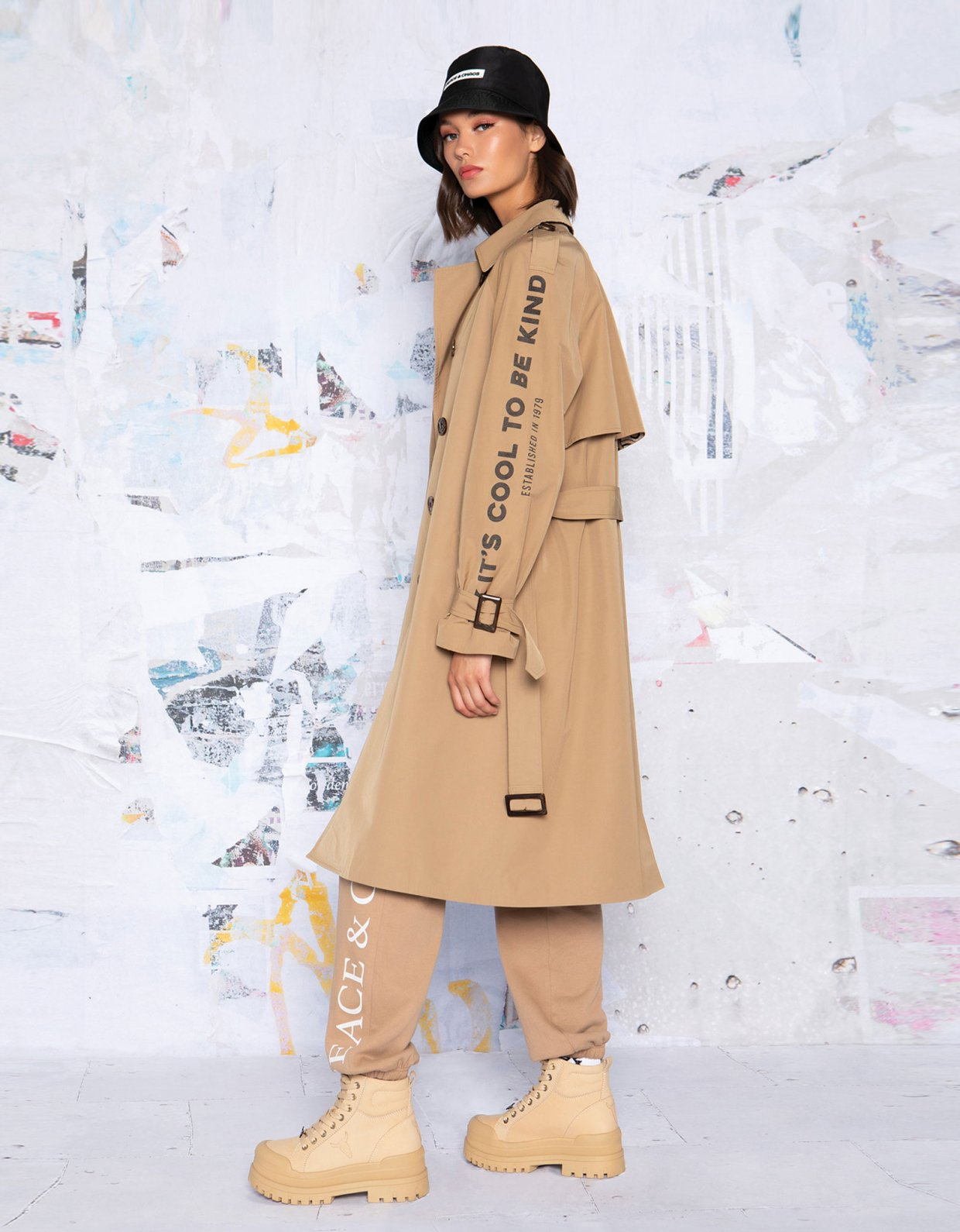 Peace & Chaos The trench coat