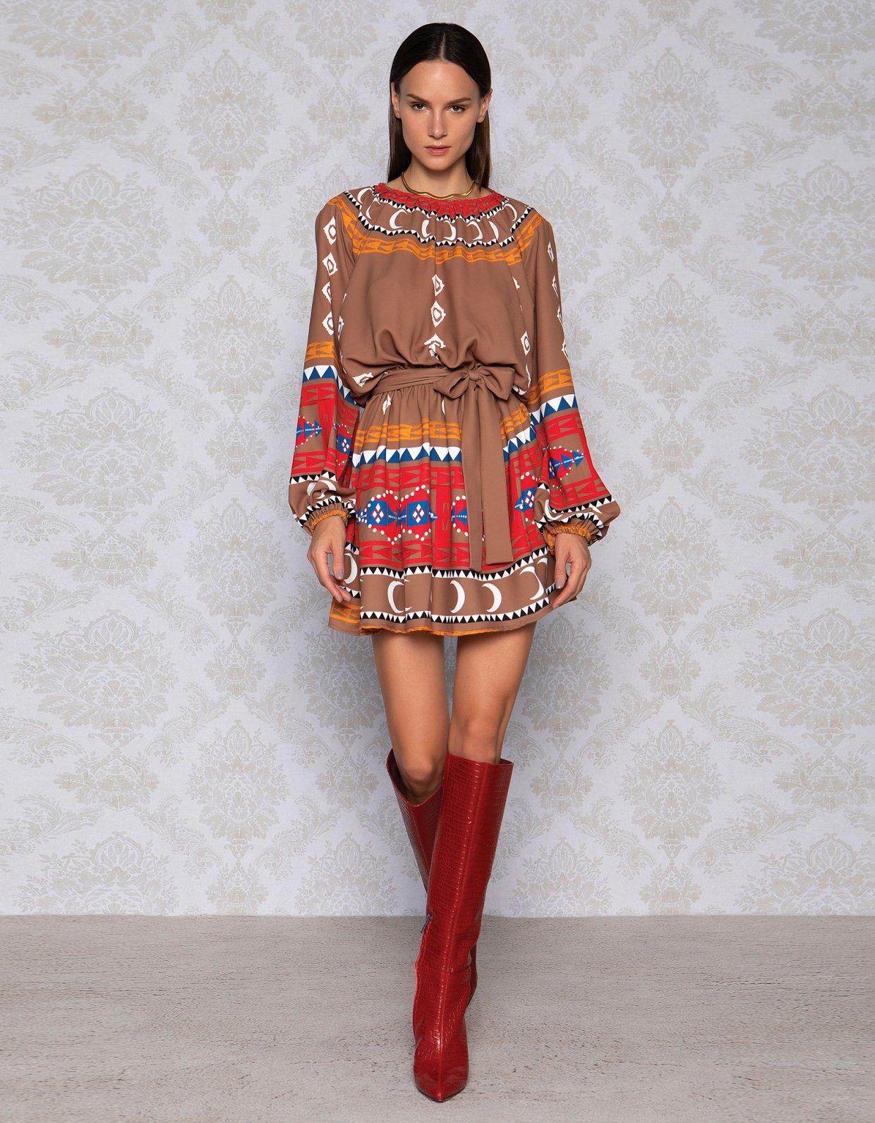 Peace & Chaos Sahara dress
