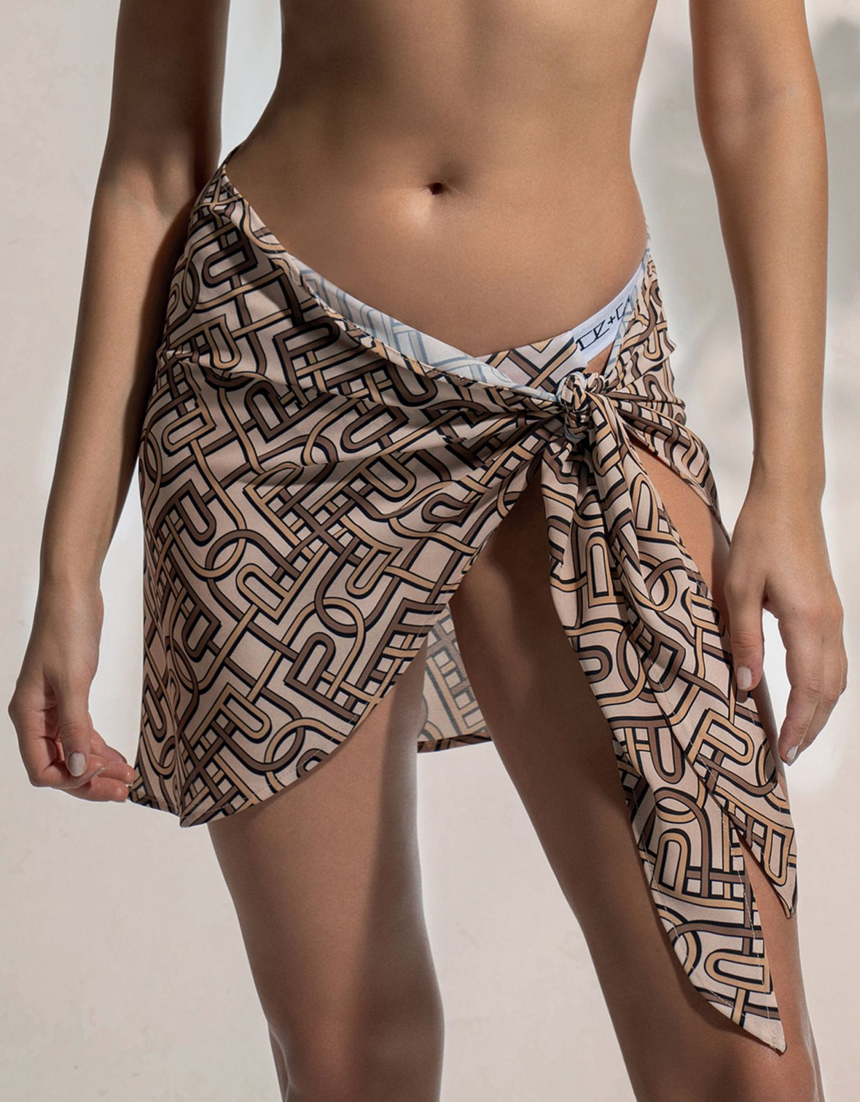 Peace & Chaos P&C pattern sarong