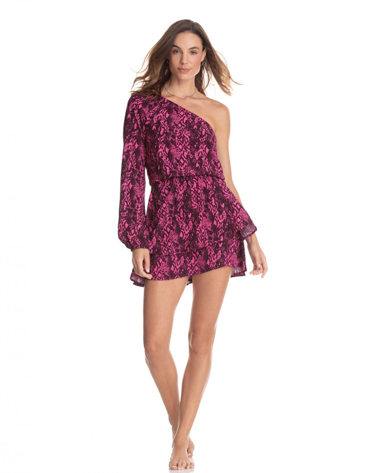 Maaji Loveliness pink quartz short dress