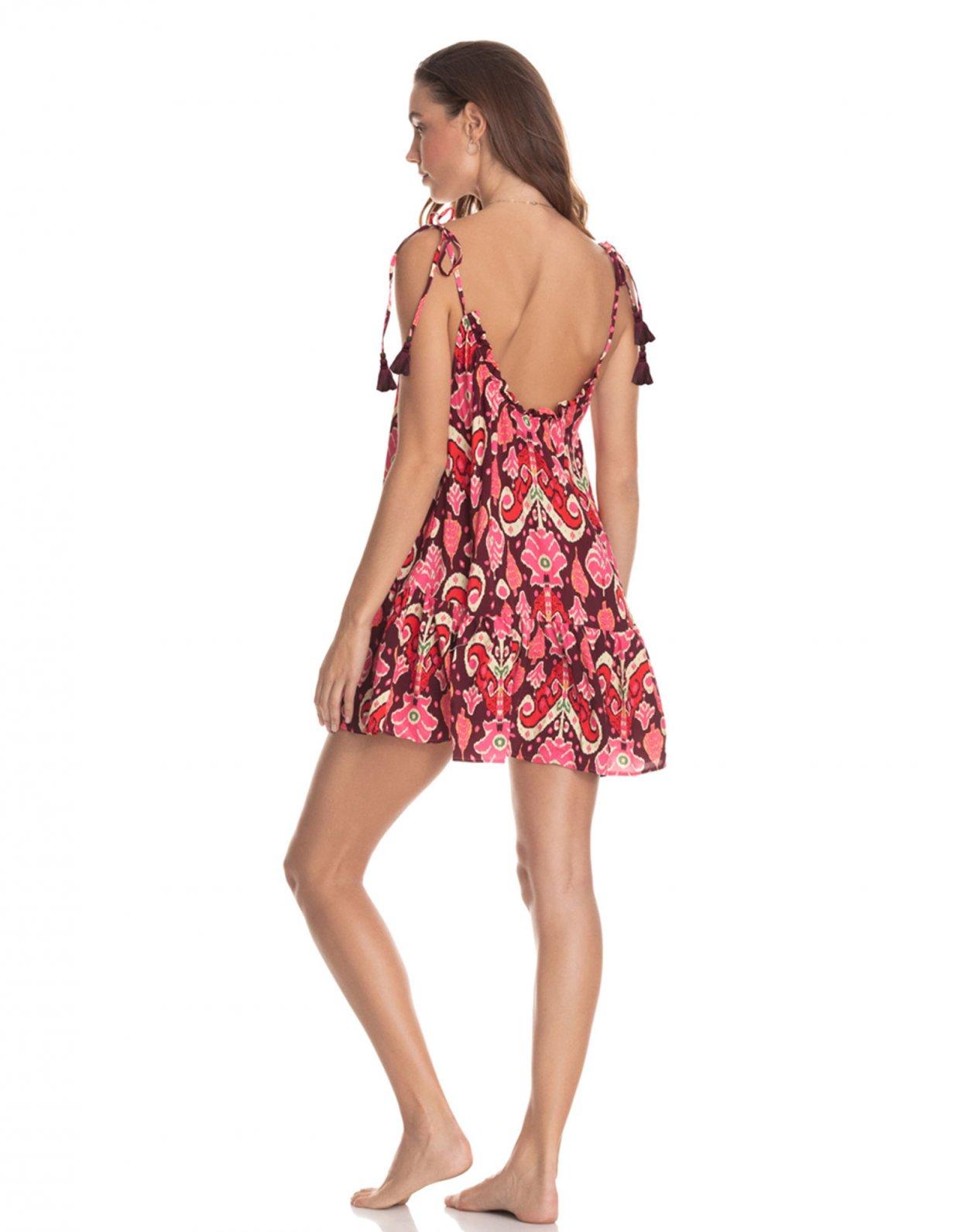 Maaji Magnolia totem short dress