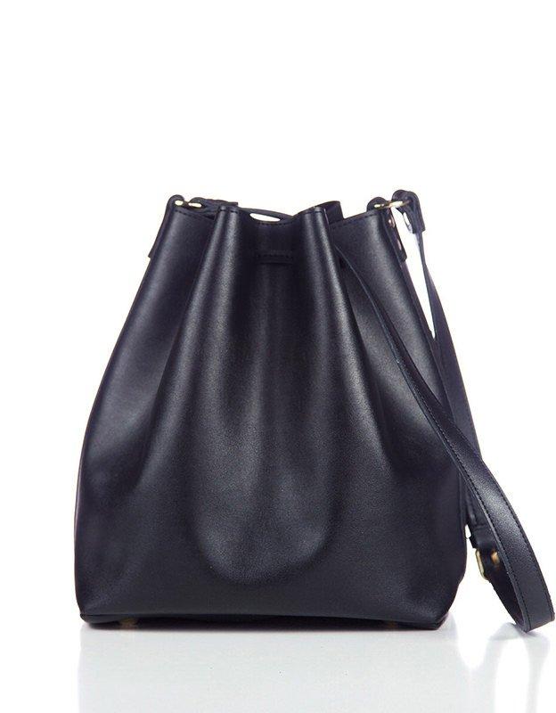Elena Athanasiou Pouch bag soft black