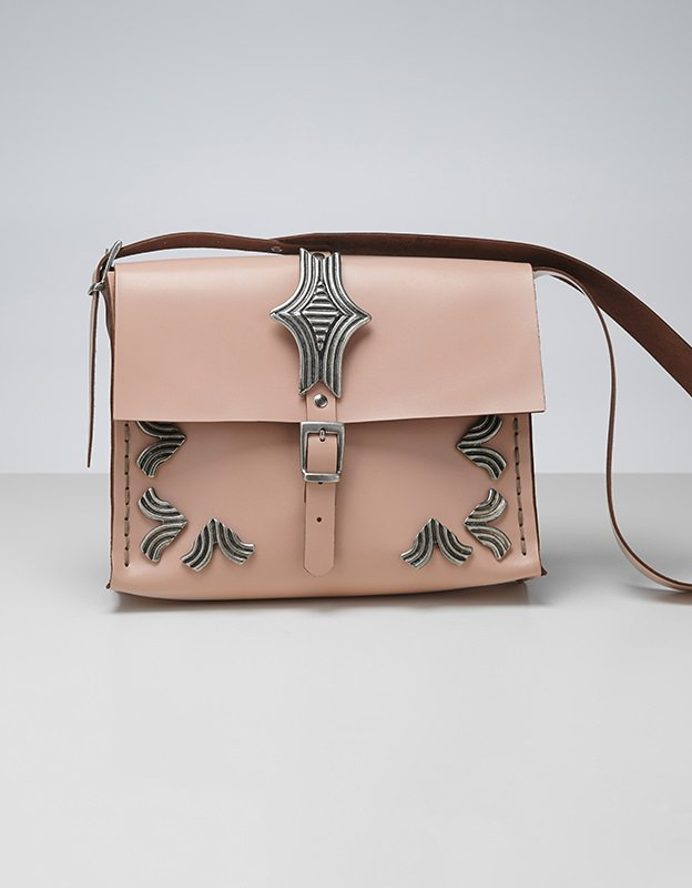 Individual Art Leather Your anchor bag nude