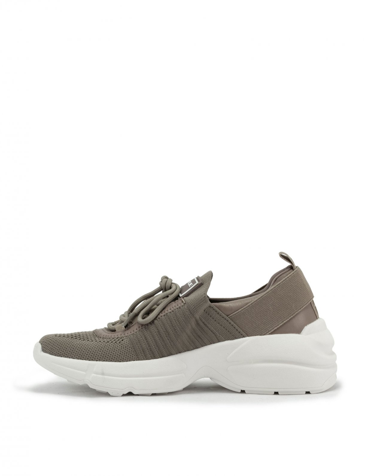 Kendall and Kylie Gleason taupe sneakers