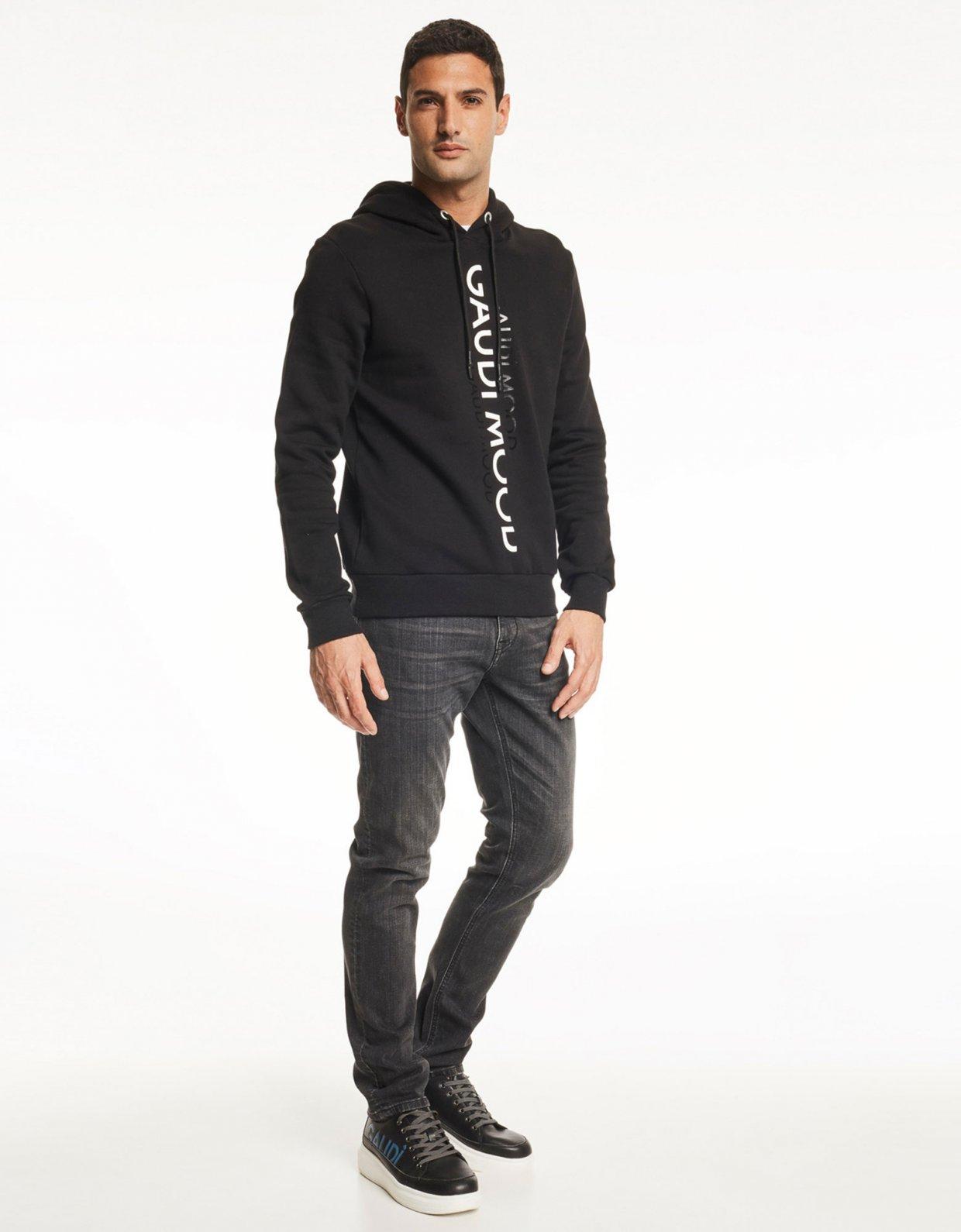 Gaudi Long sleeve sweatshirt black