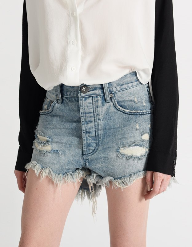 Oneteaspoon Outlaws salty dog shorts