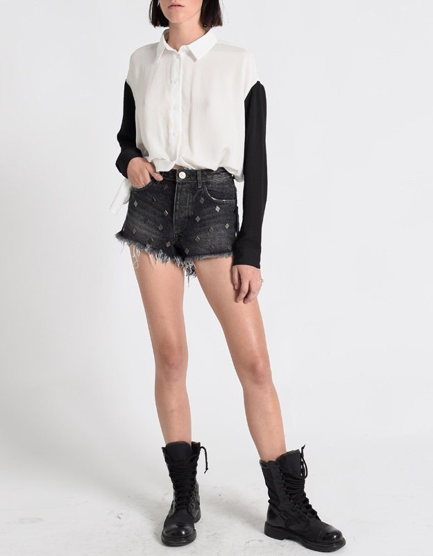 Oneteaspoon Hawks denim shorts