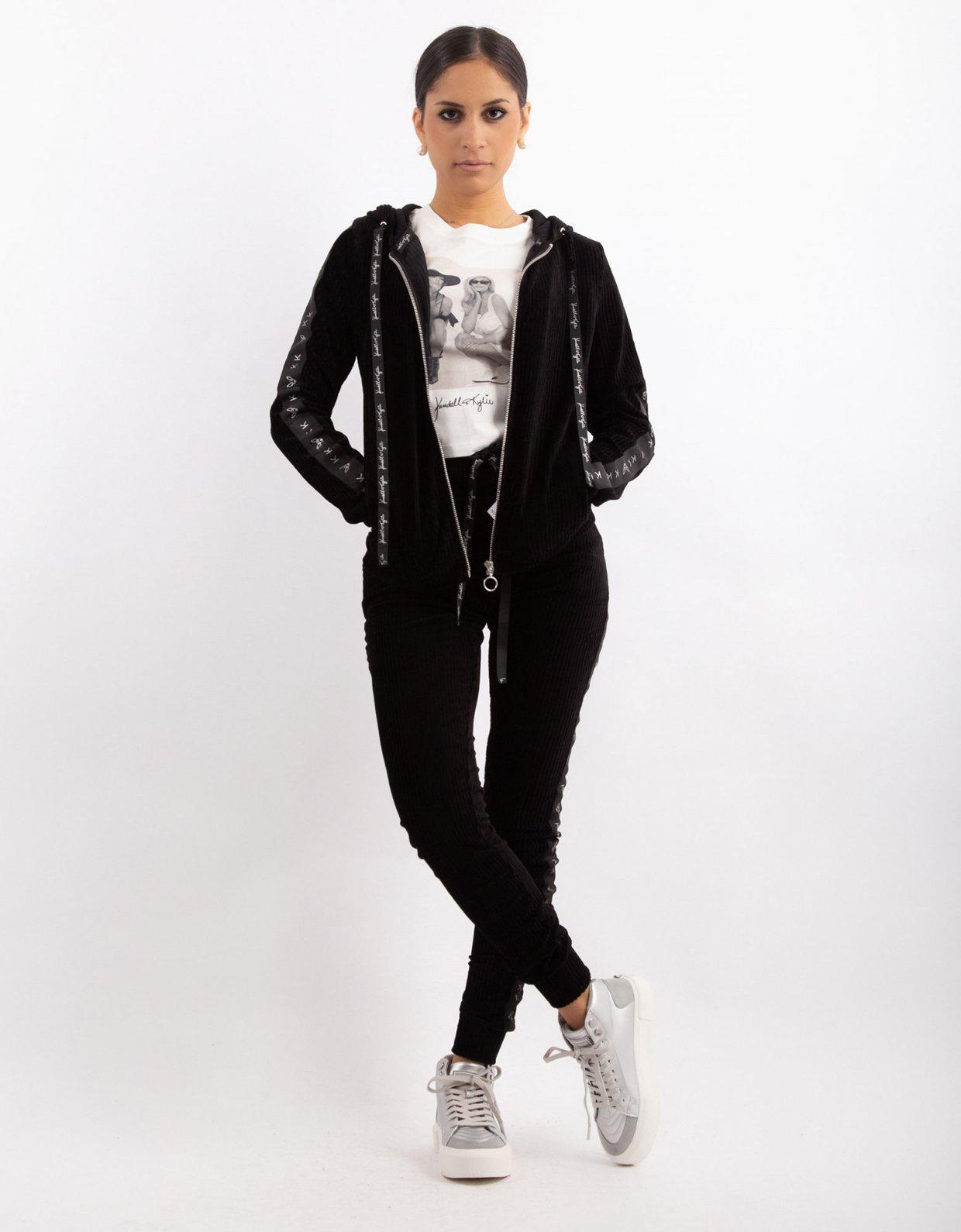 Kendall + Kylie Corduroy velvet jogger pants
