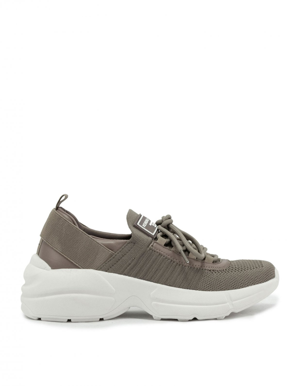 Kendall + Kylie Gleason taupe sneakers