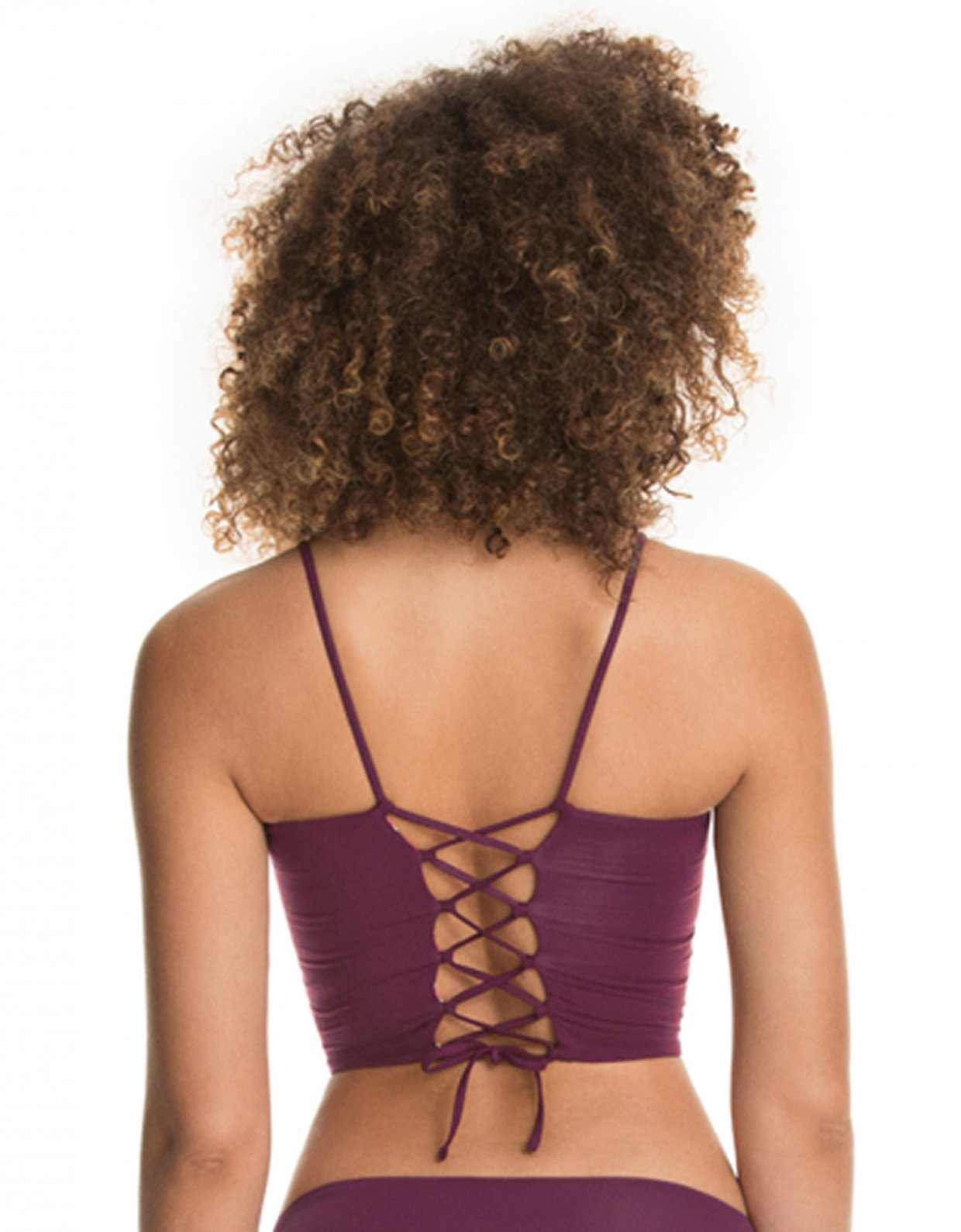 Maaji Vintage grape chicka bikini