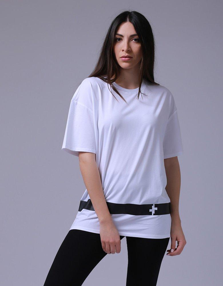 Kendall + Kylie KK 00016 White t-shirt