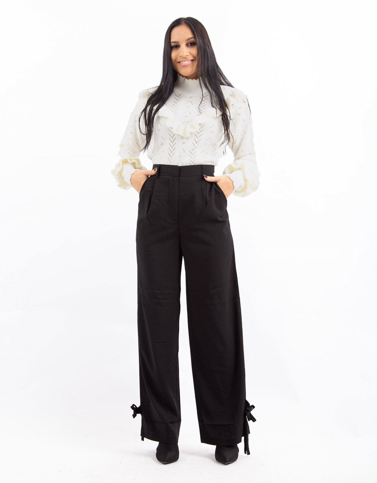 NA-KD Tied cuff pants
