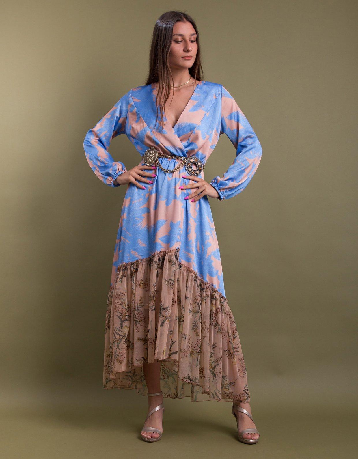 Nidodileda Milcham kimono blue