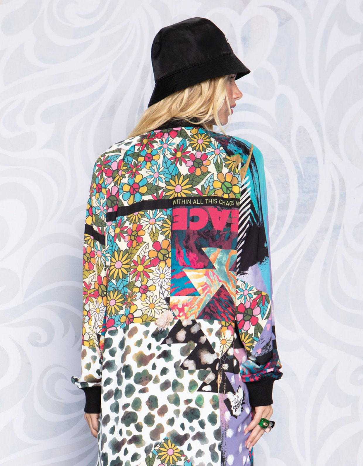 Peace & Chaos Patch me up long jacket