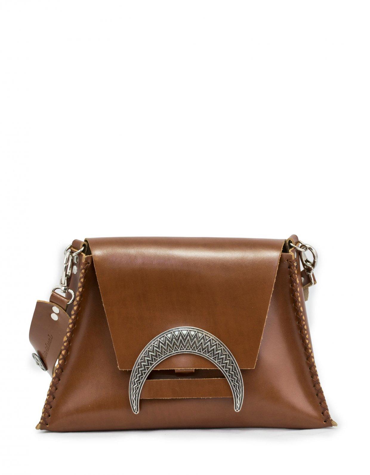 Individual Art Leather Half light taba bag