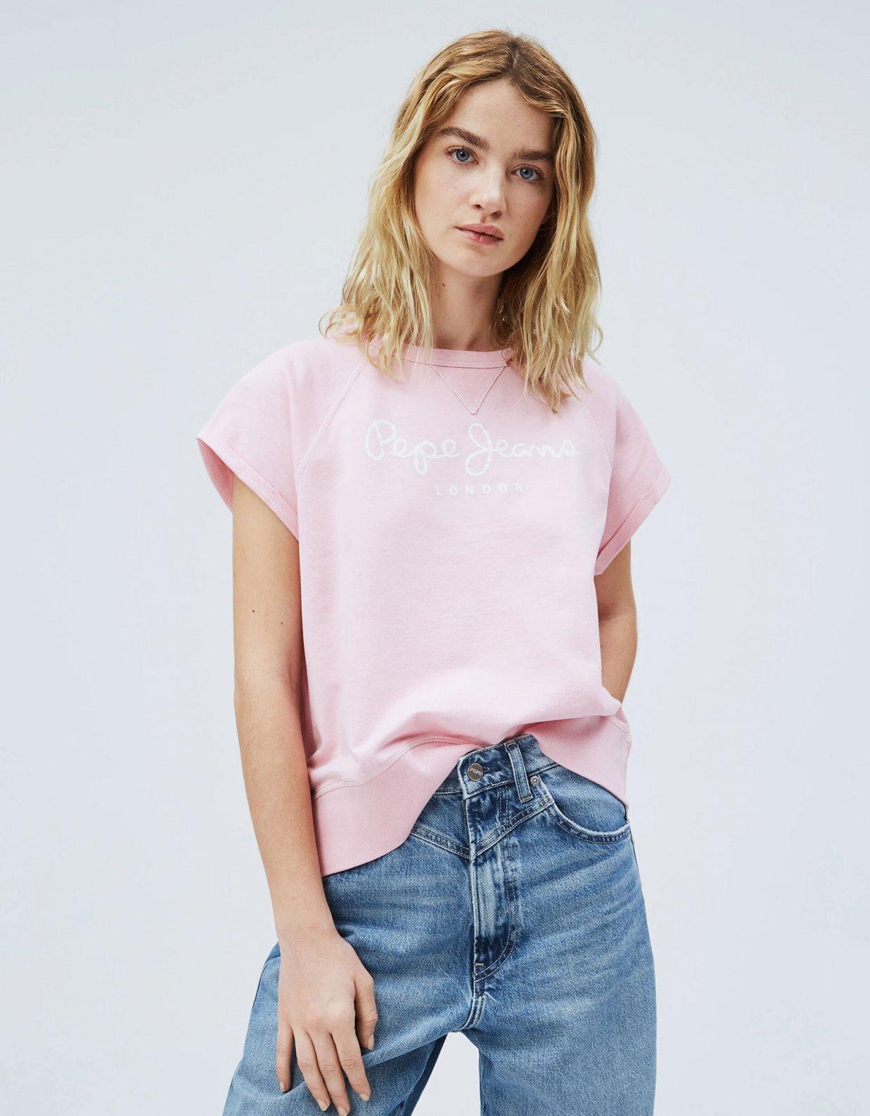 Pepe Jeans Gala sweatshirt pink
