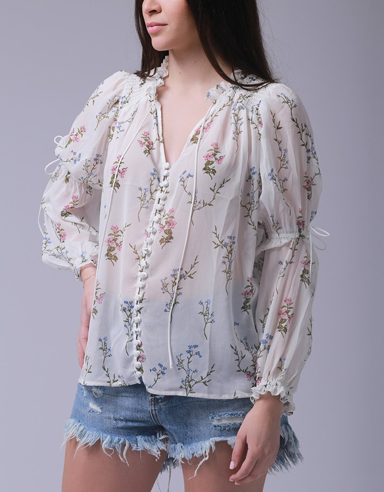 For love & lemons Delta blouse