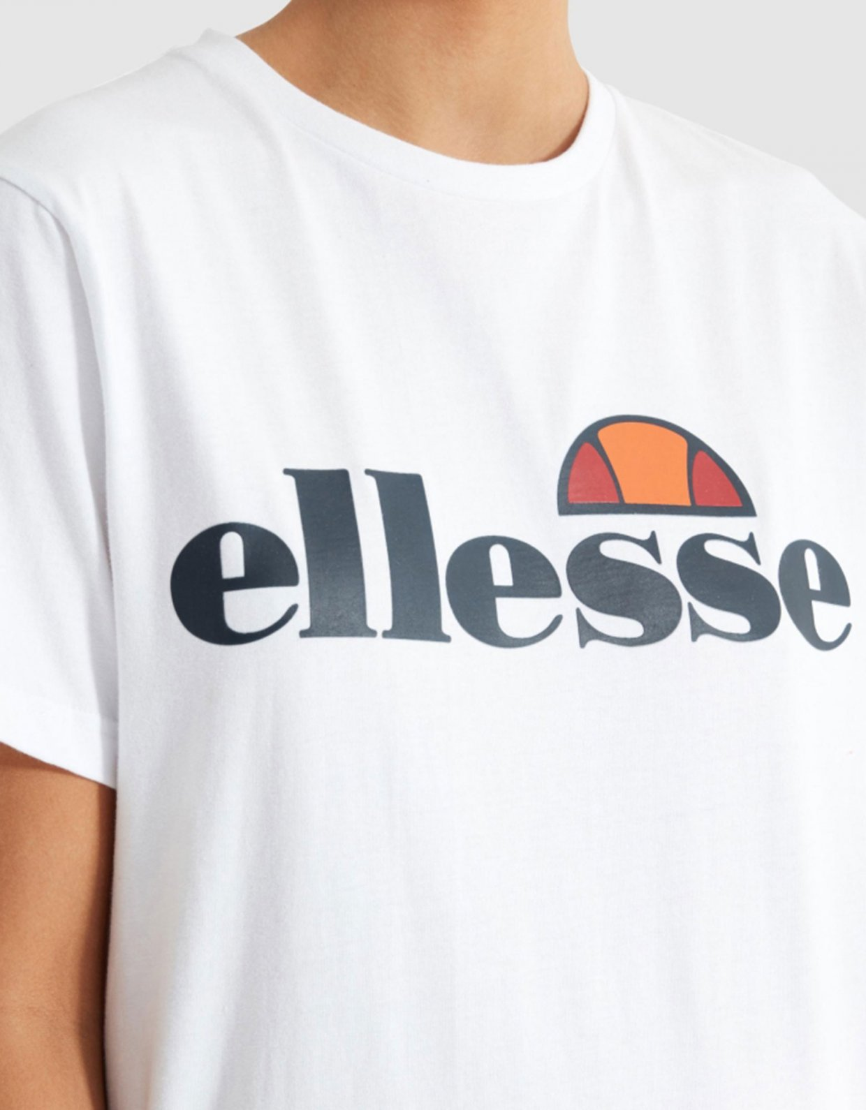 Ellesse Albany tee white