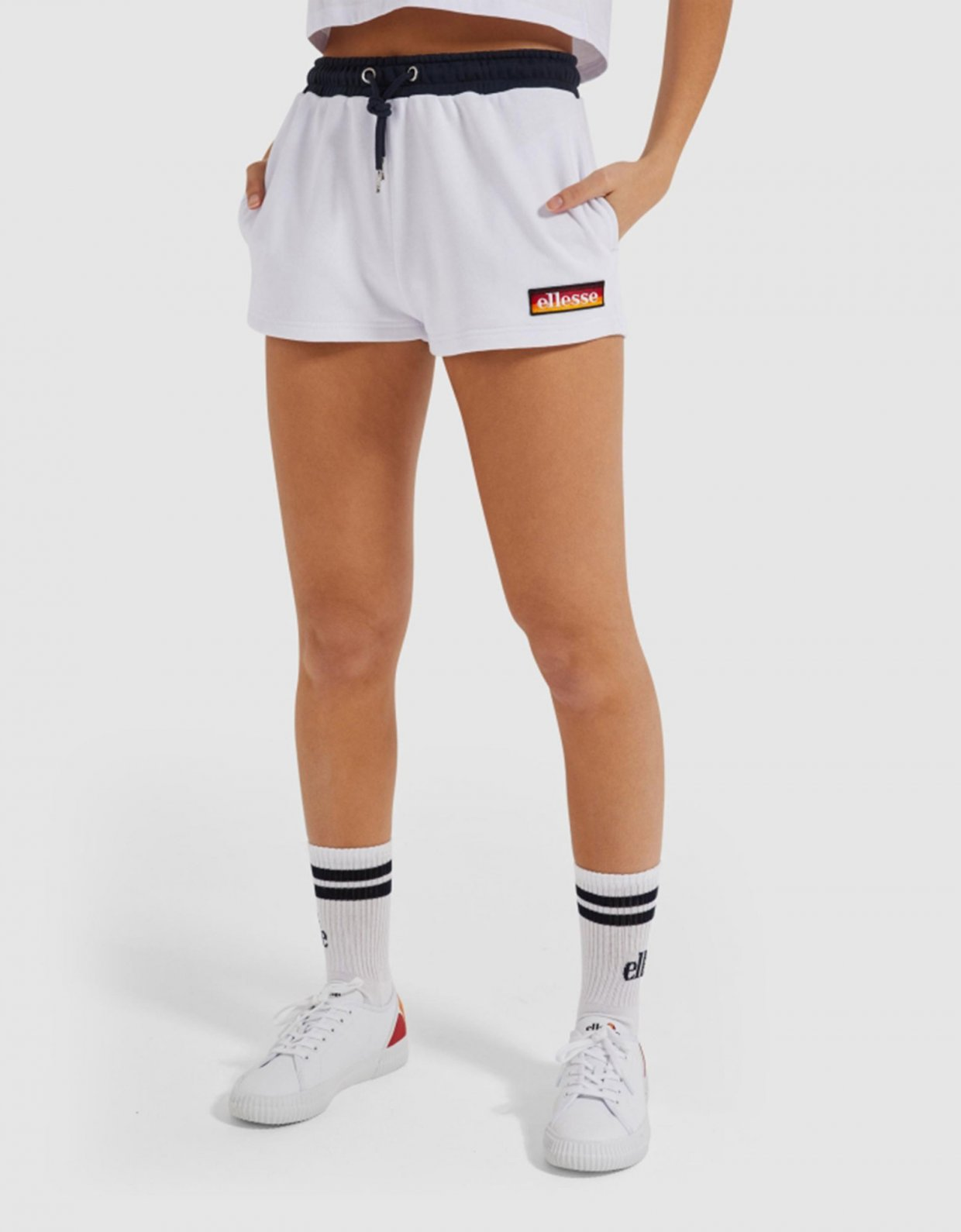 Ellesse Tang shorts white