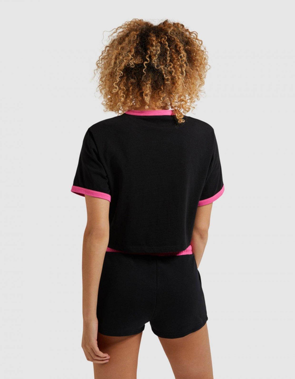 Ellesse Filide crop t-shirt black