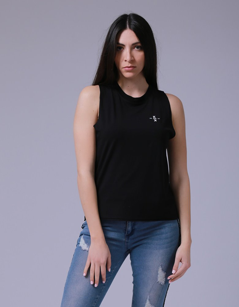 Kendall + Kylie KK 00011 Black tank top