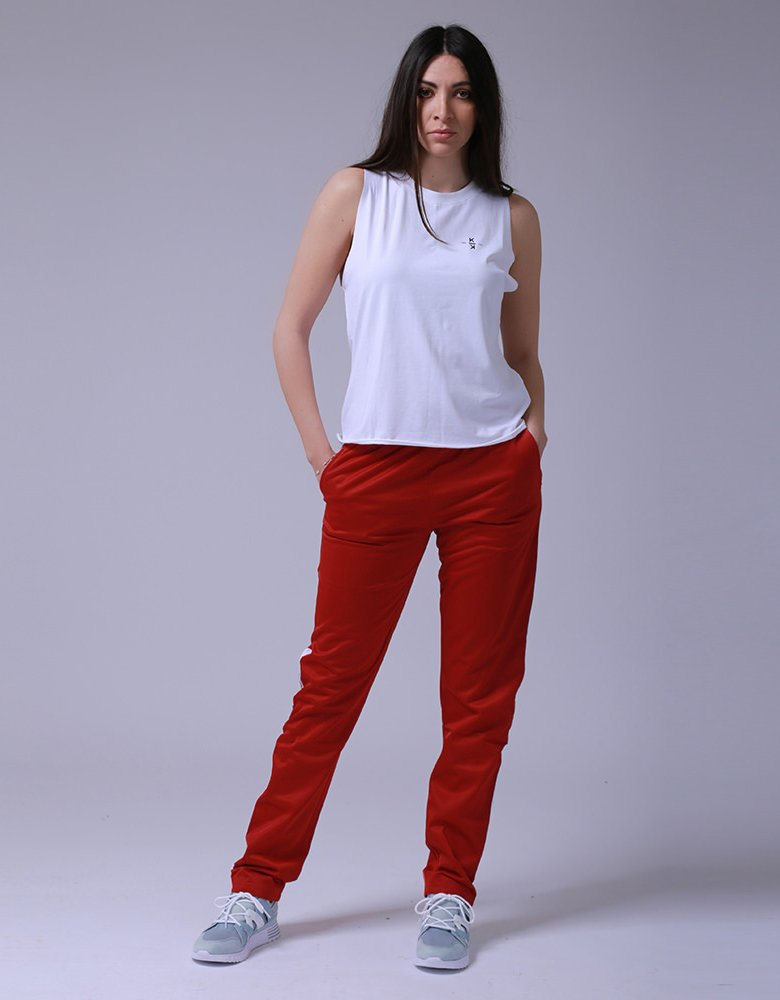 Kendall + Kylie KK 00030 Red sweatpants
