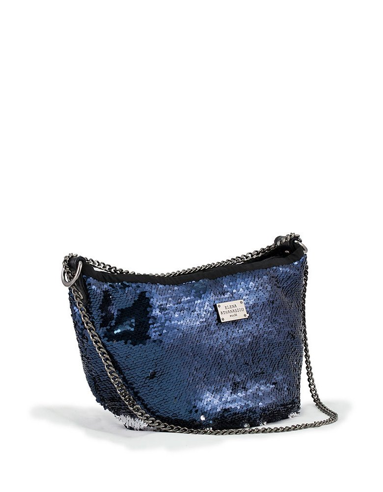 Elena Athanasiou Glam body bag blue