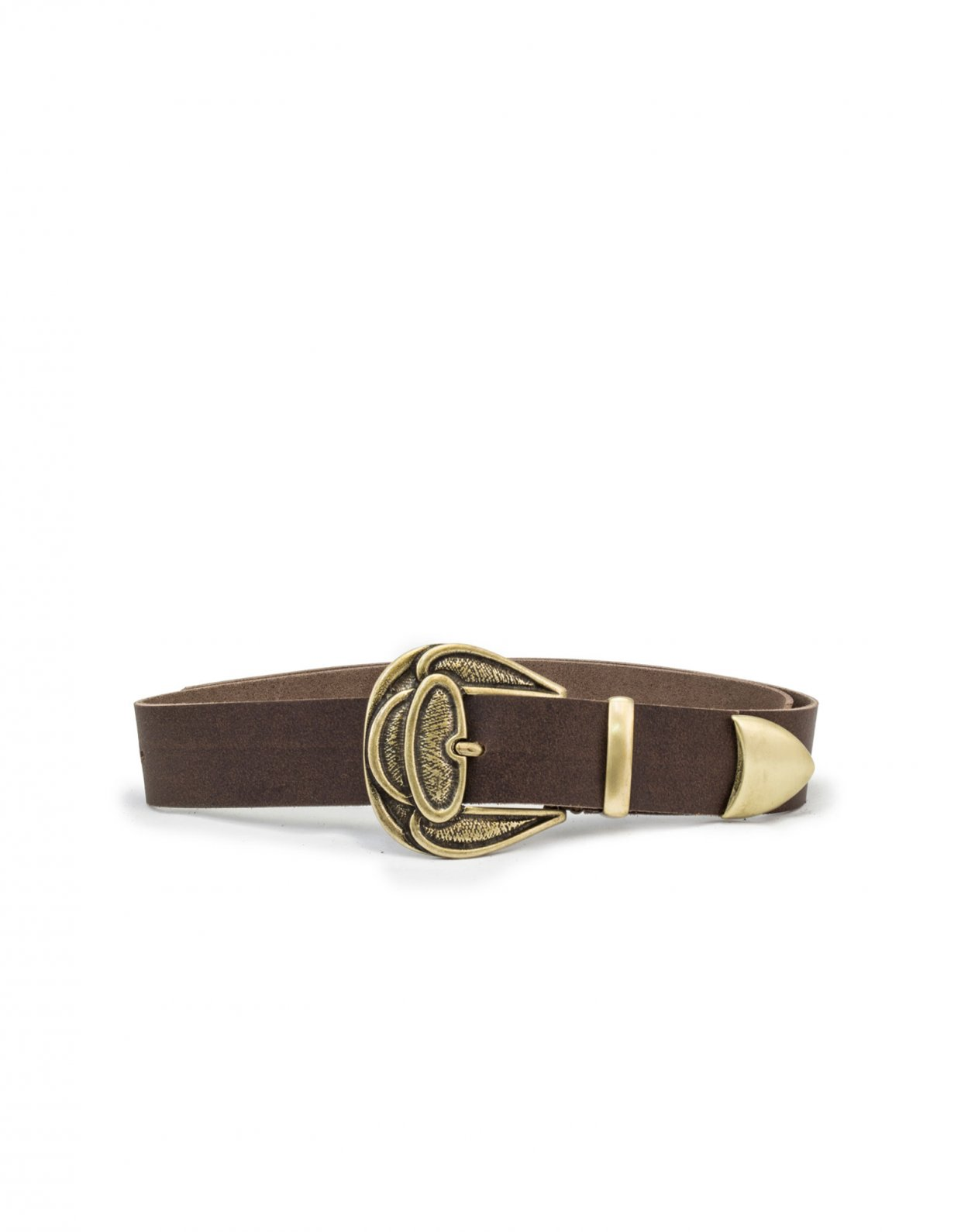 Individual Art Leather Lullaby brown belt