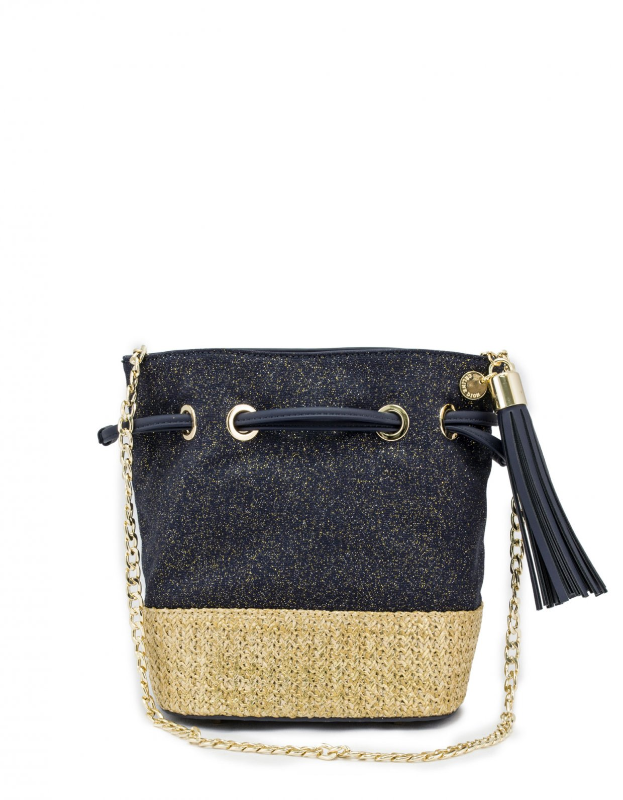 Celine Dion Carita shoulder bag blue denim