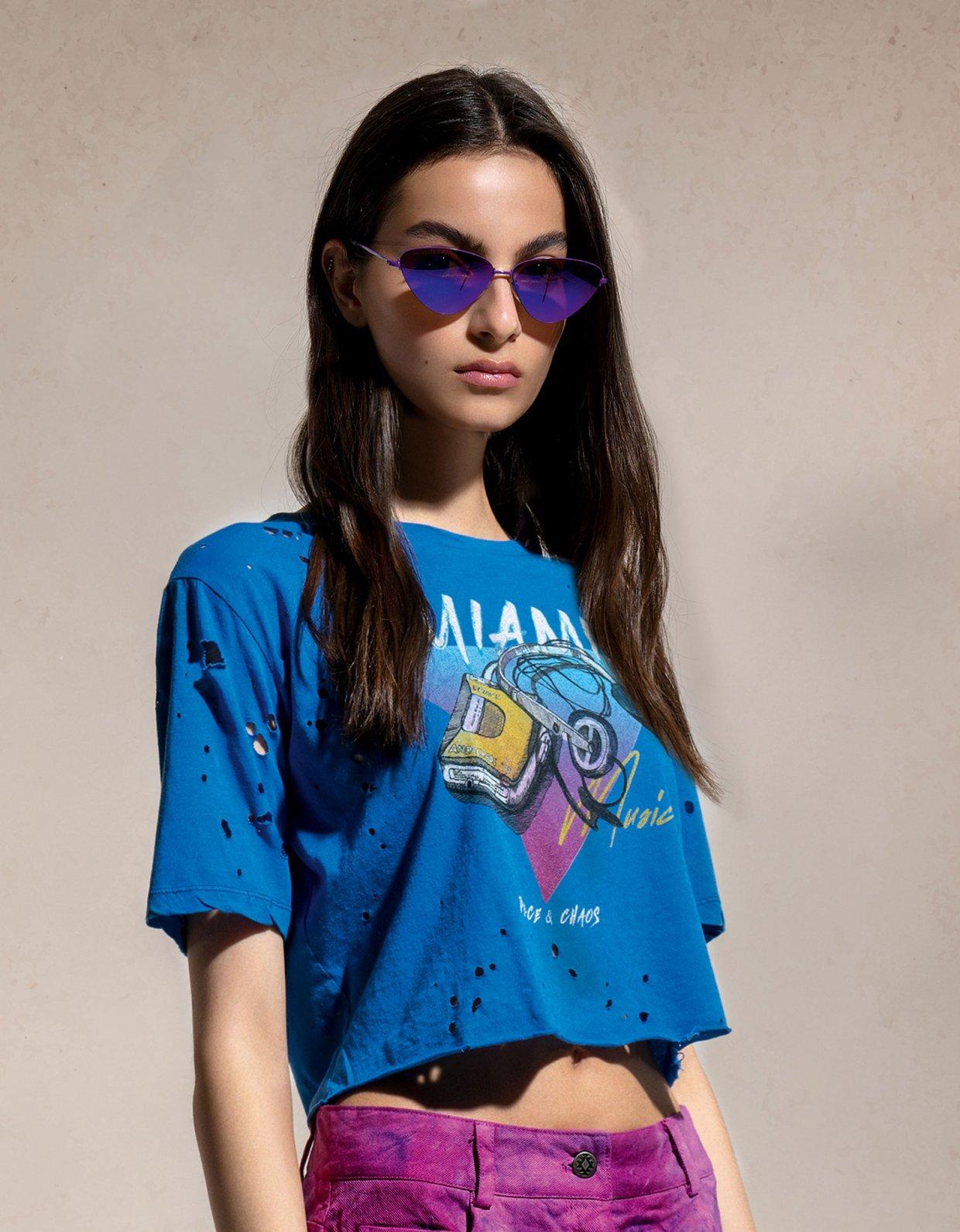 Peace & Chaos Miami music t-shirt
