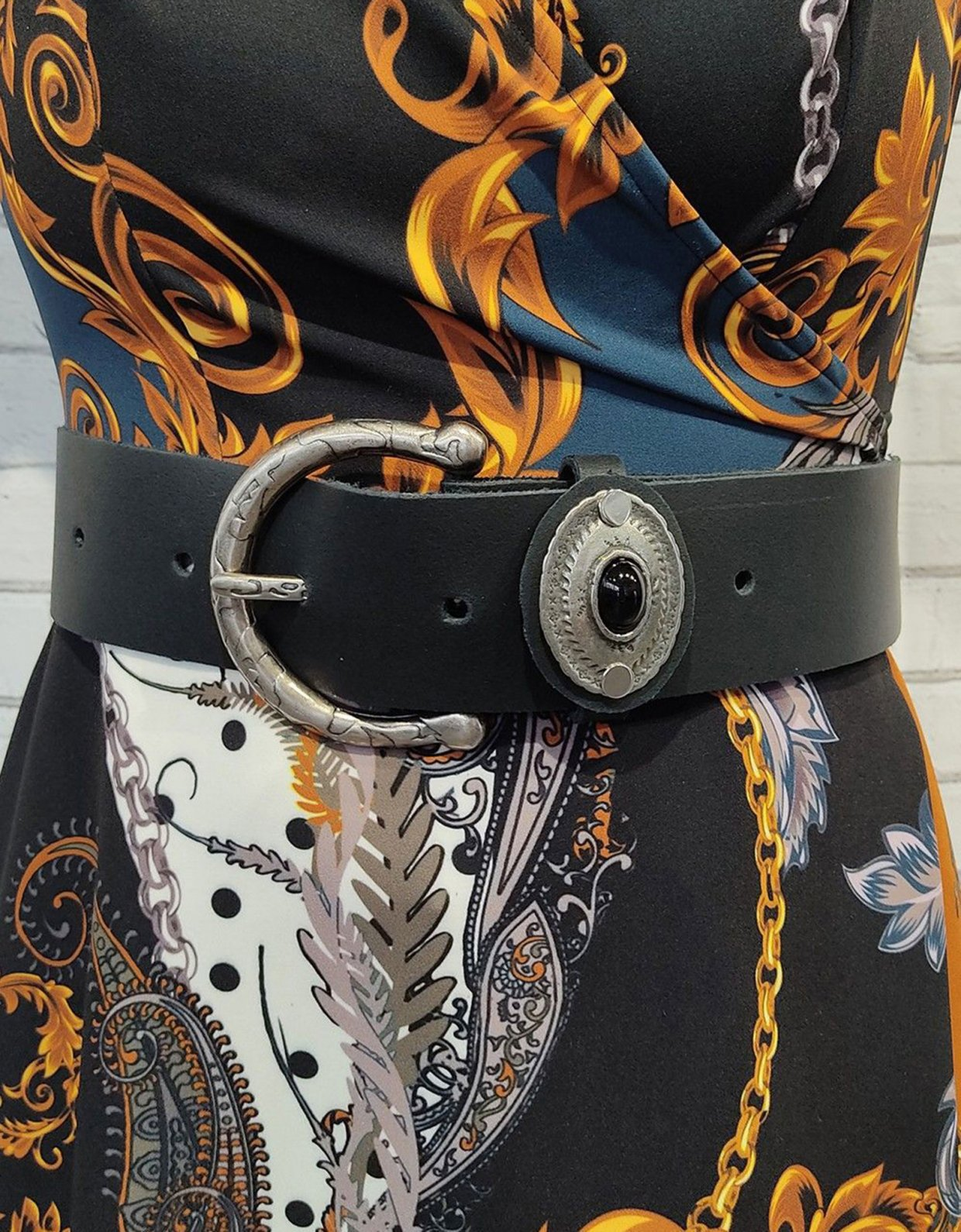 Peace & Chaos Bhakti belt black