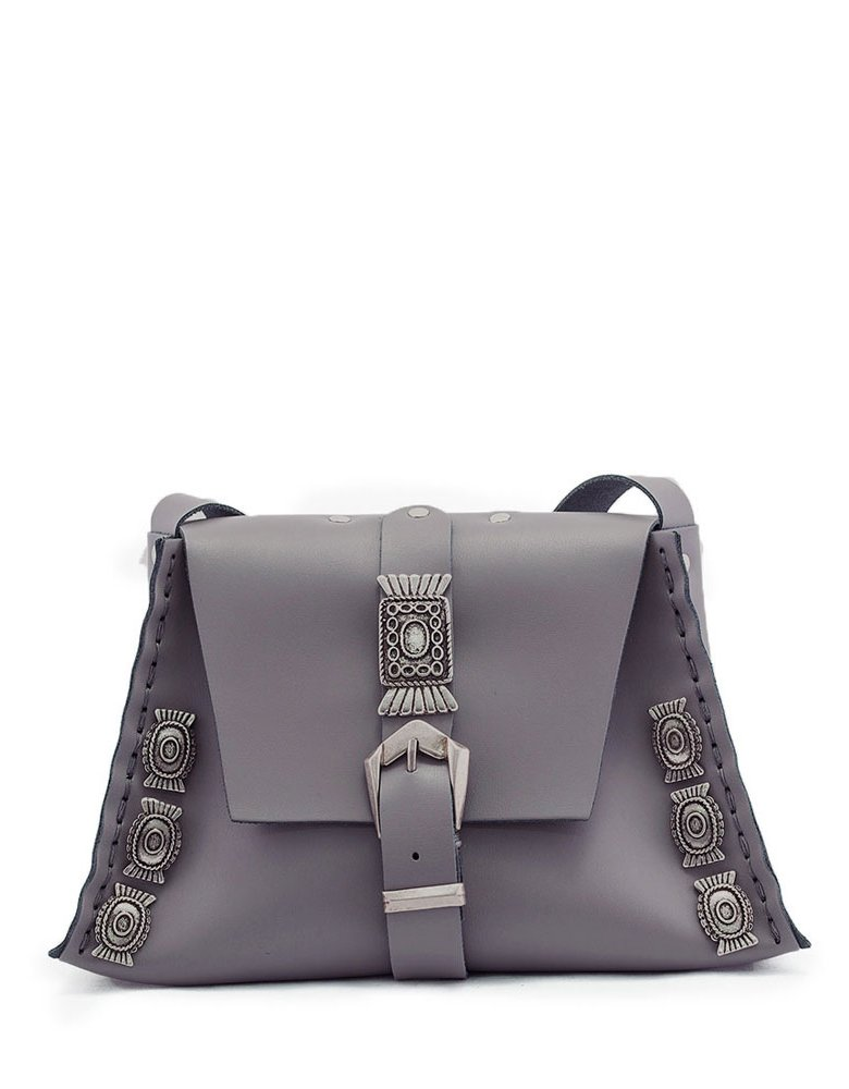 Individual Art Leather Soul to love bag grey