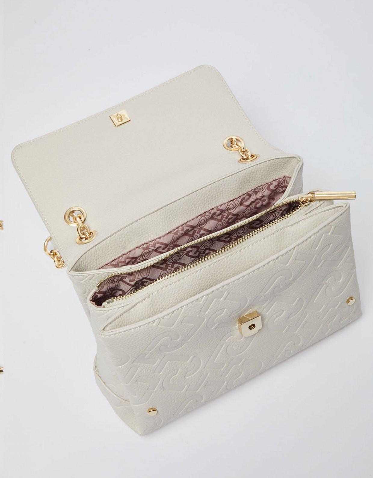 Liu Jo Eco-friendly cross body bag bone