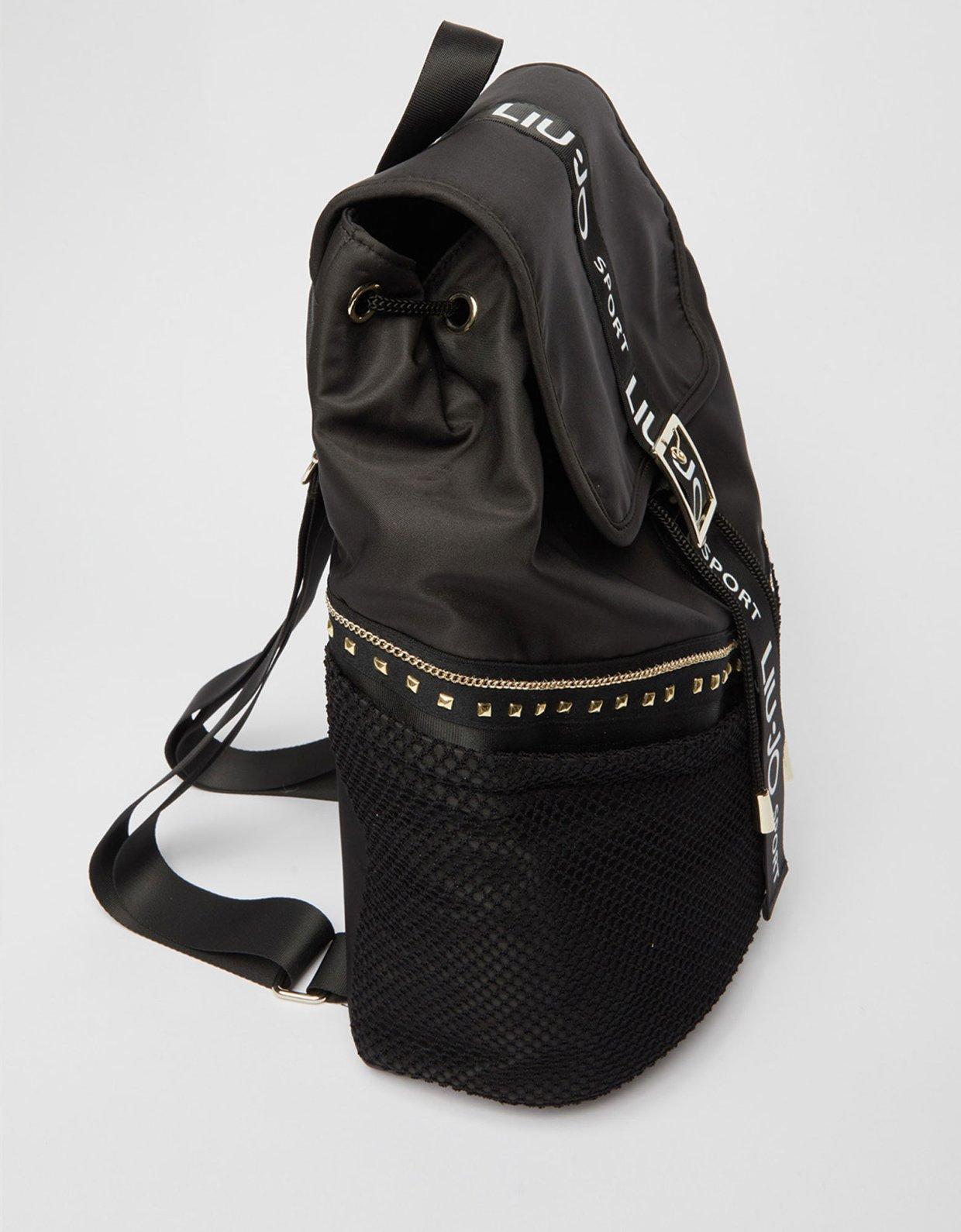 Liu Jo Backpack  with studs nero