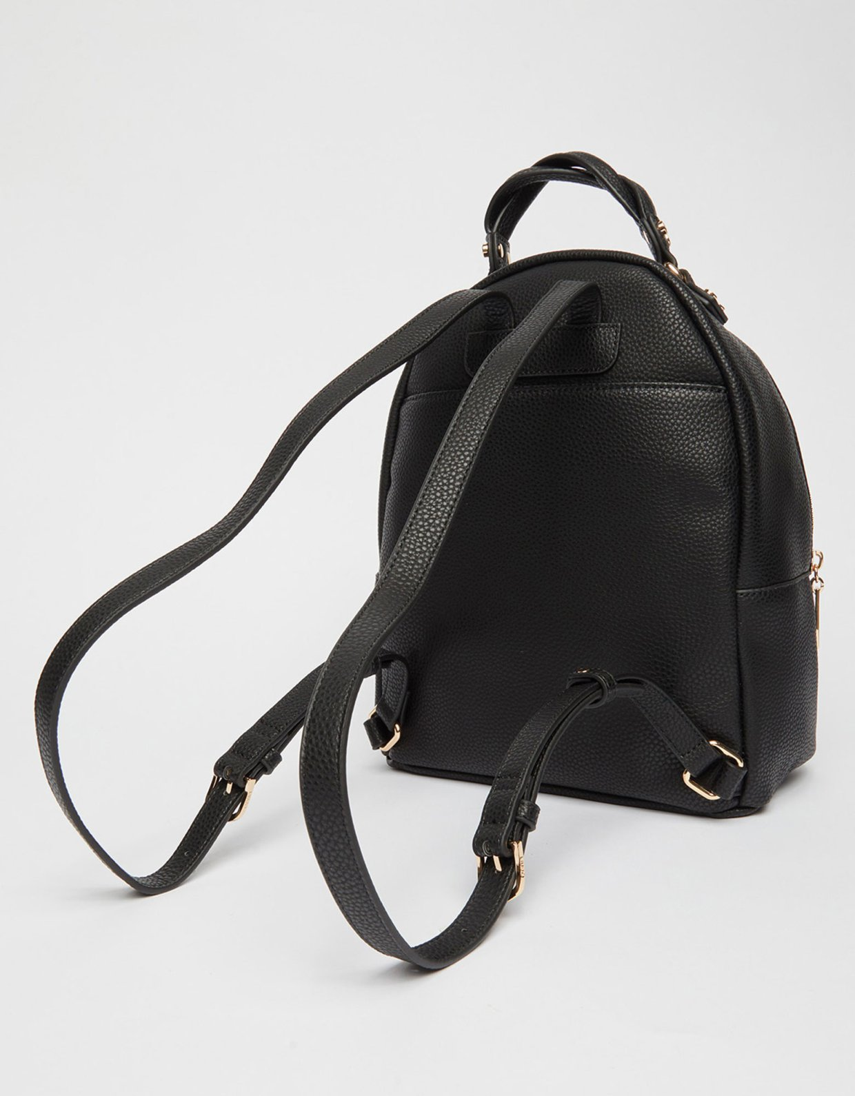 Liu Jo Eco-friendly backpack with charm nero