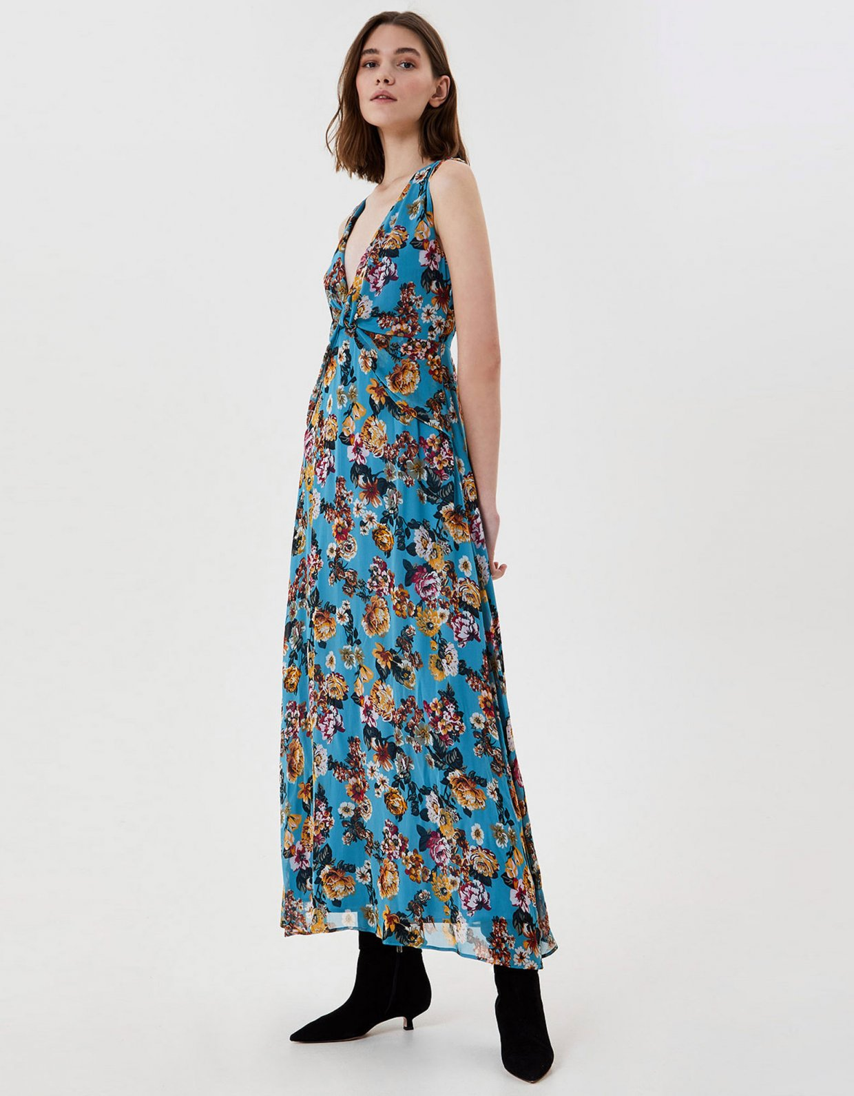 Liu Jo Long dress with print